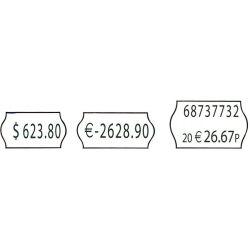 10285 Ετικετες 26X12mm Ρολλο 1000 Τεμ Για Blitz Ετικετογραφους 54 τεμάχια