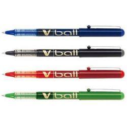 Στυλο Roller Υγρης Μελανης Pilot V-ball 0.7mm