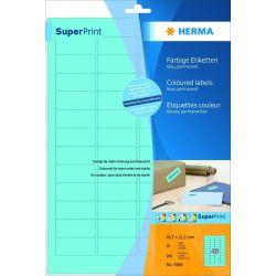 Ετικετες Μπλε Inkjet. Laser. Copy 45.7x21.2 20φυλ/960τεμ Herma