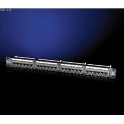 Patchpanel 24 Port Cat5e Utp Μαυρο 26.11.0349 RΟLΙΝΕ