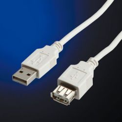 Usb Cable Type A-a M/f V. 2.0 0.8 M 11.99.8946 RΟLΙΝΕ