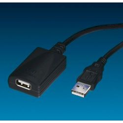 Usb 2.0 Repeater Cable 4.5 M Μαυρο 12.04.1089 RΟLΙΝΕ