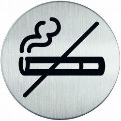 Συμβολο No Smoking Με Αυτοκολλητο Διαμετρος 83Μμ Durable