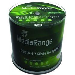 Dvd+R Media Range Spindle 100 Τεμαχια 4.7Gb/16X Οικονομικη Λυση