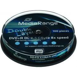 Dvd+R Double Layer Media Range Spindle 10 Τεμαχια 8.5Gb/8X Οικονομικη Λυση