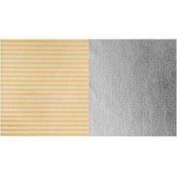 Οβάλ ανακλαστήρας 180x120cm ασημί/ριγέ ασημί-χρυσό LA 7236 Lastolite