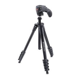 Τρίποδο Compact Action μαύρο MKCOMPACTACN-BK Manfrotto
