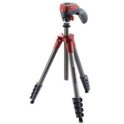 Τρίποδο Compact Action κόκκινο MKCOMPACTACN-RD Manfrotto