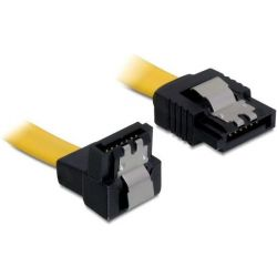 "Sata Cable Data 6.0 Gbit/s 0.5m Γωνιακο 90"" Latch 82811 ΤRΑGΑΝΤ"