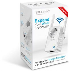 Wireless Range Extender 300mbps Πριζασ-σουκο Με 2 Κεραιεσ TL-WA860RE ΤΡ-LΙΝΚ