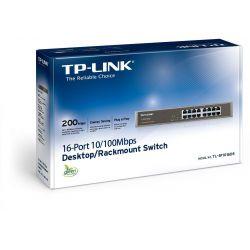 Switch 16 Port + Bracket Για 19' TL-SF1016DS ΤΡ-LΙΝΚ