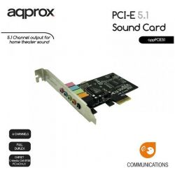 Pci Exp Soundcard 5.1 PCIE51 ΑΡΡRΟΧ