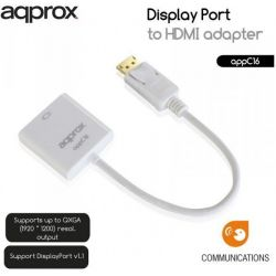 Adapter Display Port M/ Hdmi F APPC16 ΑΡΡRΟΧ