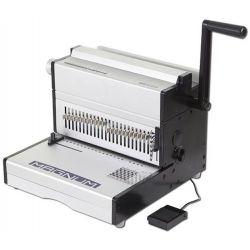 Ηλεκτρικό βιβλιοδετικό μηχάνημα μεταλικού σπιράλ 2:1 - Vivid Magnum MEC 23