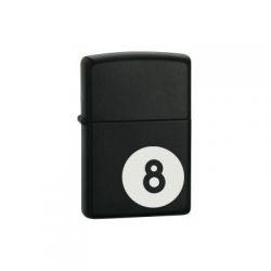 Αναπτήρας Classic 28432 8-Ball Black Matte Zippo