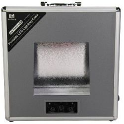 Βαλίτσα φωτογράφισης προϊόντων με ενσωματωμένο φως 3220LED Luminus