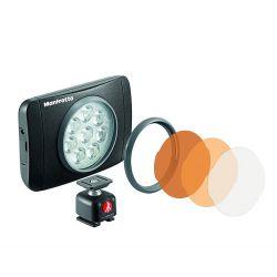 Φωτιστικό LED LUMIE SERIES MUSE & Εξαρτήματα – Μαύρο MLUMIEMU-BK Manfrotto