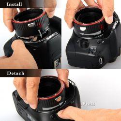 Σετ μετατροπής φακών Canon για macro φωτογράφιση AP CONVERSION SET Aputure