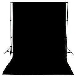 Φόντο υφασμάτινο 3x6μ. Μαύρο 3x6 Black Jinbei
