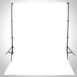 Φόντο υφασμάτινο 3x6μ. Λευκό 3x6 White Jinbei