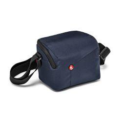 Τσάντα ώμου NX για CSC με επιπλέον φακό, Μπλε MB NX-SB-IBU Manfrotto