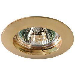 Σποτ σταθερο αλουμινιου χρυσο μr16 Ferrara 147-55611