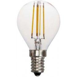 Λαμπα led σφαιρικη filament 4W E14 3000K 240v Eurolamp 147-80922