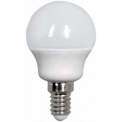 Λαμπα led SMD σφαιρικη 6W E14 6500K 240v Eurolamp 147-84432