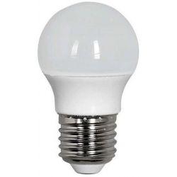 Λαμπα led SMD σφαιρικη 4W E27 2700K 240v Eurolamp 147-84441