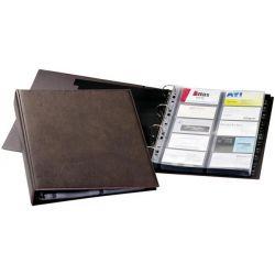 Θηκη Business Cards 4 Κρικων Α4 400 Καρτων Durable