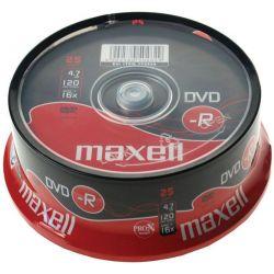 Dvd-R Maxell Spindle 25 Τεμαχια 4.7Gb/16X