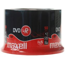 Dvd-R Maxell Spindle 50 Τεμαχια 4.7Gb/16X