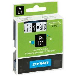 Ταινια Ετικετογραφου Dymo D1 19Mmx3.5M Nylon Μαυρη Εκτυπωση/Λευκη Ταινια