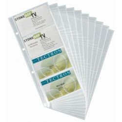 Ζελατινες Για Business Cards 8 Καρτων Σετ 10 Τεμαχια Durable