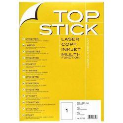 Ετικετες Inkjet. Laser. Copy 48.3X25.4 100 Φυλλα/4400 Τεμαχια Topstick Οικονομικη Λυση