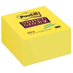 Post It 654-12Sscy 76X76Mm Super Sticky Κιτρινα 90 Φυλλα 3Μ