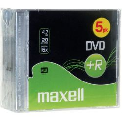 Dvd+R Maxell 4.7Gb/16X Slim Case