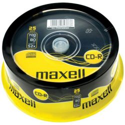 Cd-R Maxell Spindle 25 Τεμαχια 700Mb/52X