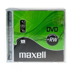 Dvd+Rw Maxell Jewel Case 4.7Gb/4X