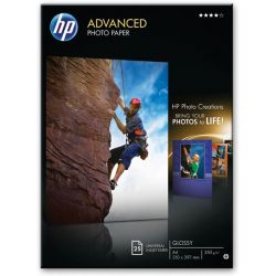 Χαρτι Inkjet A4 250Gr Advanced Photo Glossy 25 Φυλλα Q5456A Hp