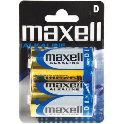 Μπαταριες Lr20 Αλκαλικες Μεγαλες 2 Τεμαχια Maxell