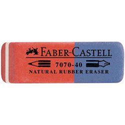 Γομα Μπλε-Κοκκινη Faber Castell