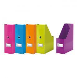 Θηκη Περιοδικων 6047 103X330X253 Πλαστικοποιημενη Click & Store Wow Leitz