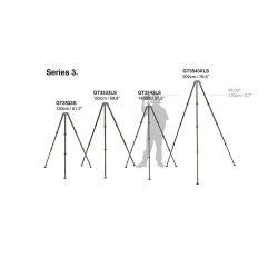 Τρίποδο Systematic Series 4 από ανθρακόνημα. 3 τμημάτων. Long GT4533LS Gitzo