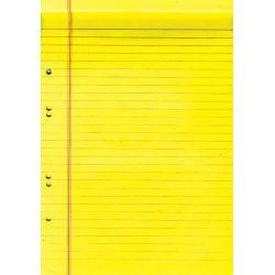 Μπλοκ yellow-δικηγορικό ριγέ 21x29 εκ. 40 φυλλα 10 τεμαχια NEXT 01104