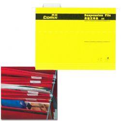 Κρεμαστοί φάκελοι Α4 Υ24.3x31.9εκ. 25 τεμάχια Comix
