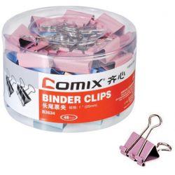 Πιάστρες χρωματιστές 25 χιλ. 48 τεμάχια Comix