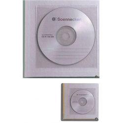 Αυτοκόλλητη θήκη cd με καπάκι υ12.9x13 εκ. 100τεμάχια NEXT 21550