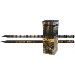 Μολύβι με σβήστρα net gold & silver Adel