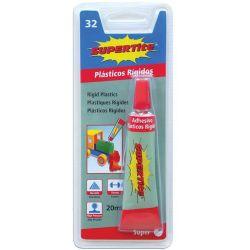 Κόλλα για πλαστικά 20gr 3 τεμαχια Supertite